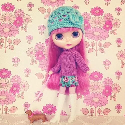 Flower girl #blythe #snowflakesonata #onblythestreet #poppytreelane