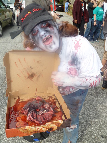 Zombie Delivery Girl