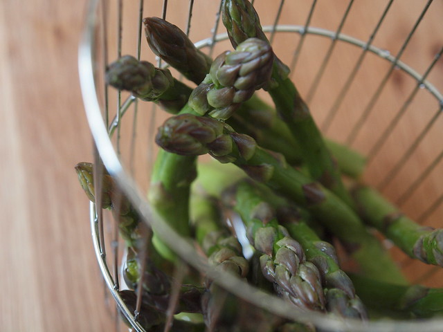 asparagus for the steamer