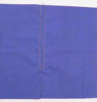 Zipper stitched
