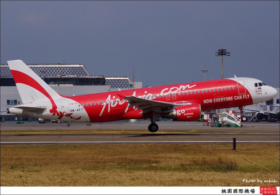 AirAsia / 9M-AFT / Taiwan Taoyuan International Airport