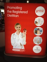 Coca-Cola promoting the RD