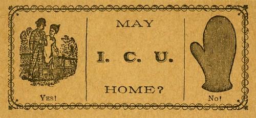 May I. C. U. Home? Yes! / No!