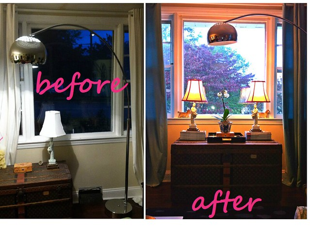 beforeafterlampshade