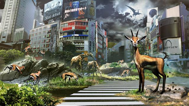 Tokyo Jungle - Artwork