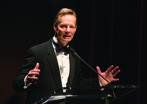 Photo of Bill Irwin during the Harman Center for the Arts Annual Gala by Kevin Allen.