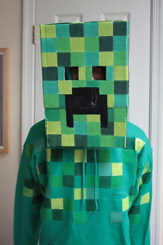 Creeper Costume done!