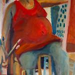 oil on canvas 100x50cm