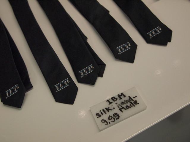 IBM tie