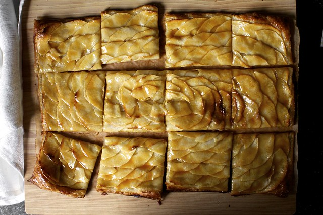apple mosaic tart with salted caramel | Flickr - Photo Sharing!