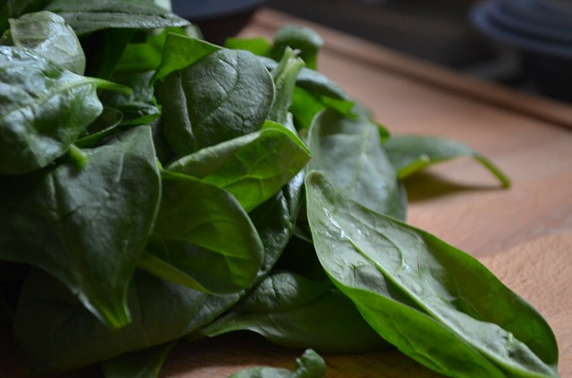 Prep to Chop the Spinach