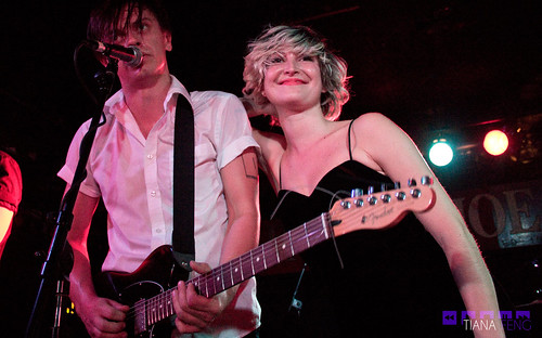 July Talk @ Horseshoe Tavern 10/19/2012