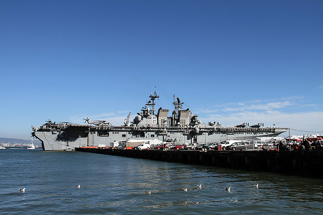 uss makin island san francisco