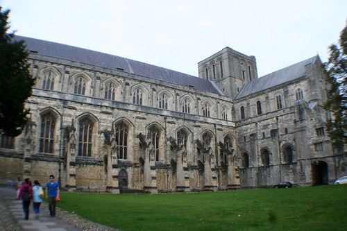 Side Elevation of Winchester Cathedral