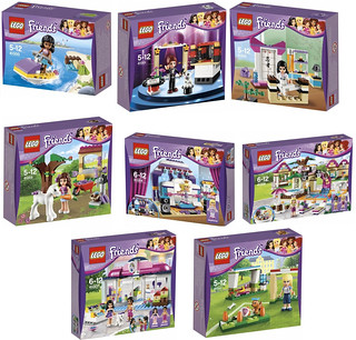 LEGO Friends 2013 - Boxes
