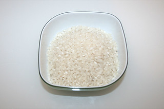 02 - Zutat Risottoreis / Ingredient risotto rice