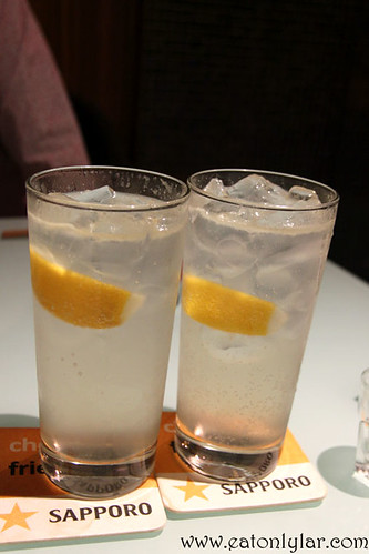 Lemon Sour Cocktail, Yakitori Do