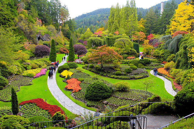 Butchart Gardens Vancouver Island Flickr Photo Sharing