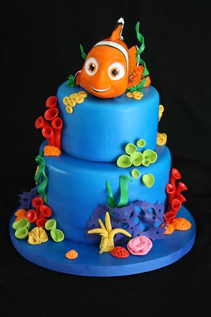 Cake Design Nemo : Nemo Cake Flickr - Photo Sharing!