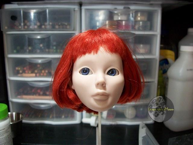 HOW TO: Install eyes into a dolls head 8115086376_040b25a723_o