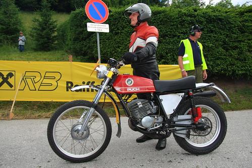 PUCH Penton vintage motorcycle made in Austria Tauplitzalm Bergpreis 2008 Copyright B. Egger :: eu-moto images 2376