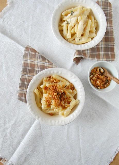 Provolone and lemon pasta / Macarrão com provolone e limão siciliano