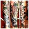 Custom tattooing by Kirk Nilsen - Crown&Anchor - NJ Custom tattooing by