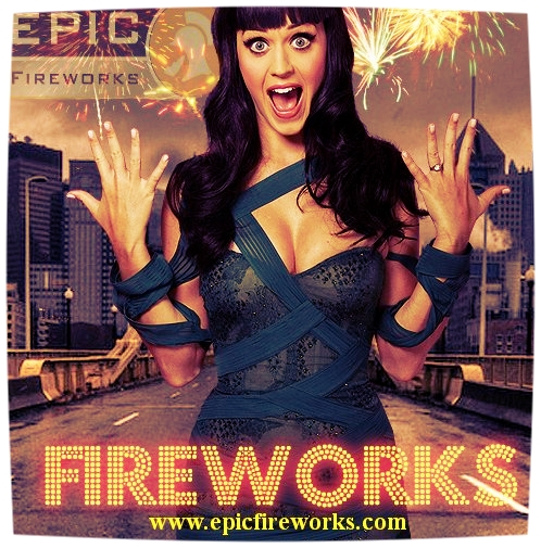 Katy Perry Loves Epic Fireworks logo