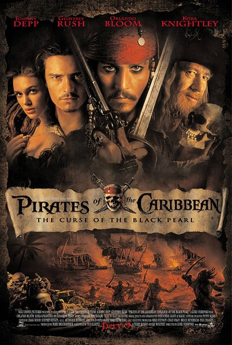 加勒比海盗 Pirates of the Caribbean: The Curse of the Black Pearl(2003)