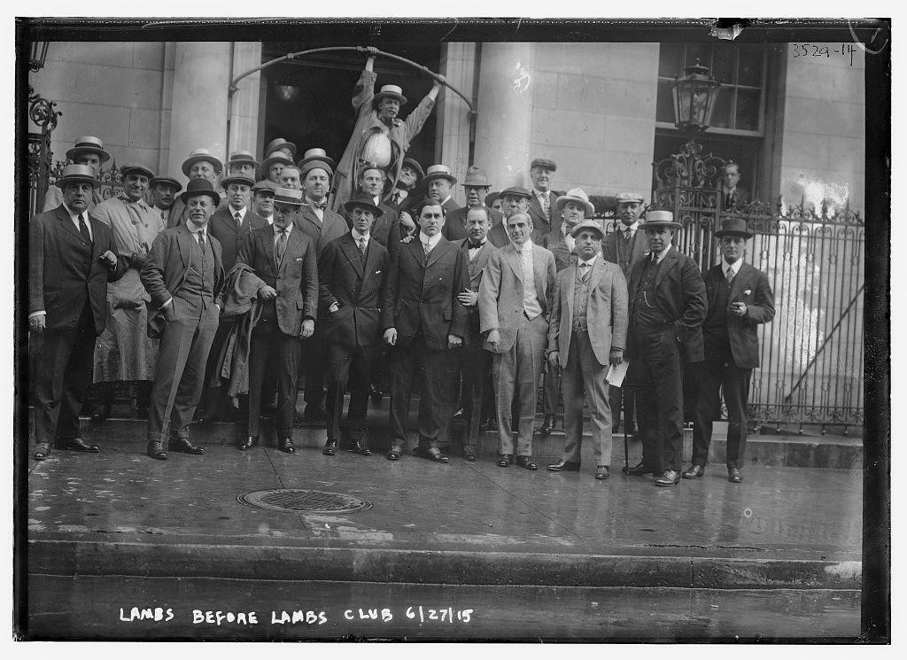 Lambs before Lambs Club, 6/27/15  (LOC)