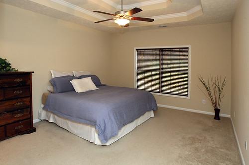 First floor master suite in Flatrock Ridge