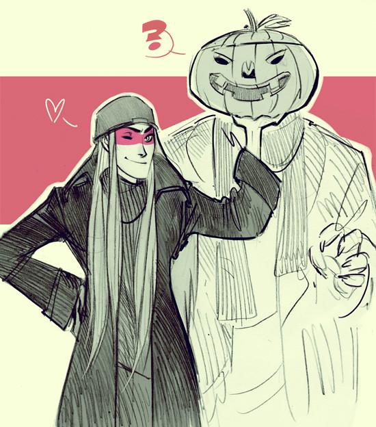 Halloween Vathek and Cedric