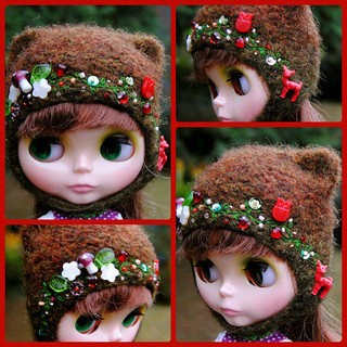 The Folklore Kitty Helmet: Bambi's Forest