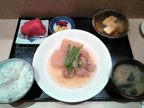 Tsukune to Daikon Setto