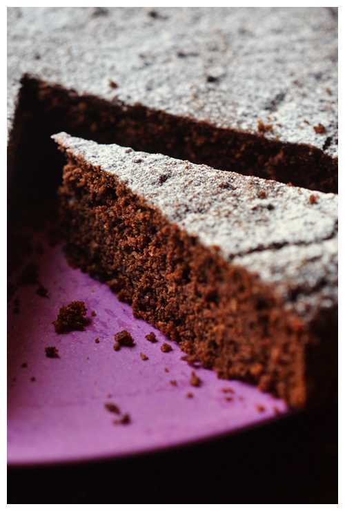 hazelnut and chocolate cake© by Haalo