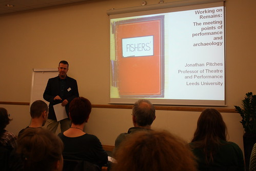 Jonathan Pitches considers the relationship between theatre and archaeology