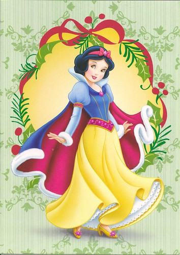 Snow White Christmas Card
