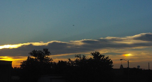 sky sun clouds sunrise double illusion vanburen arkansas