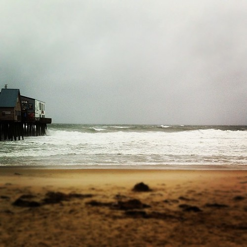 at the Pier in Old Orchard Beach #maine #Sandy