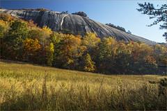 Stone Mountain in Early Autumn Light