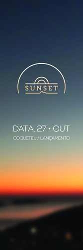 Sunset Convite by chambe.com.br