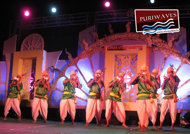 Kumar Utsav 2012, actors of Gangeswari Organisation of Ganjam district