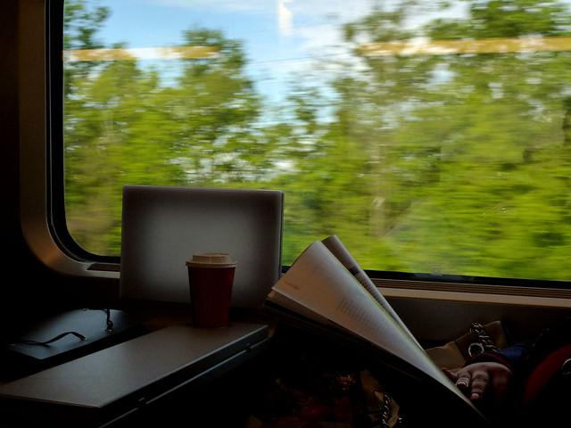 Florence - jour 1 - 002 - Dans le TGV