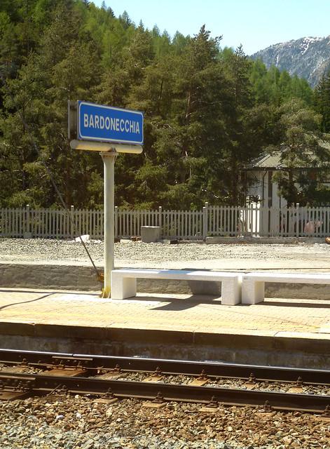 Florence - jour 1 - 010 - Gare de Bardonecchia