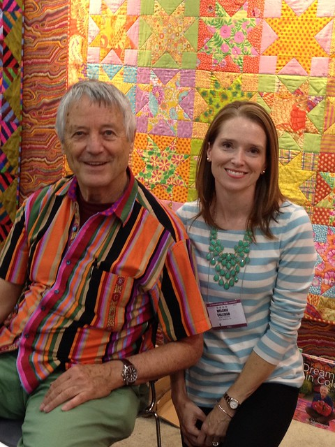 Meeting the King of Color, Kaffe Fassett