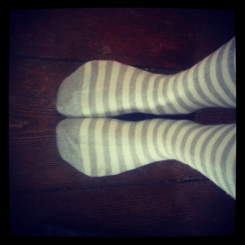 Happy fall. New wool socks.