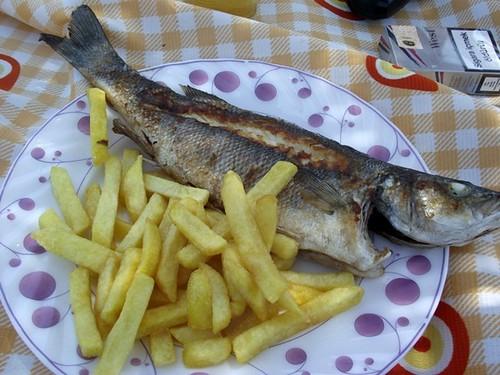 Basic fish Dinner