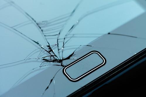 Tinas De Baño Hechas De Cemento:Broken Smartphone Screen