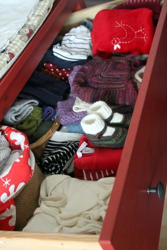 babys drawers.