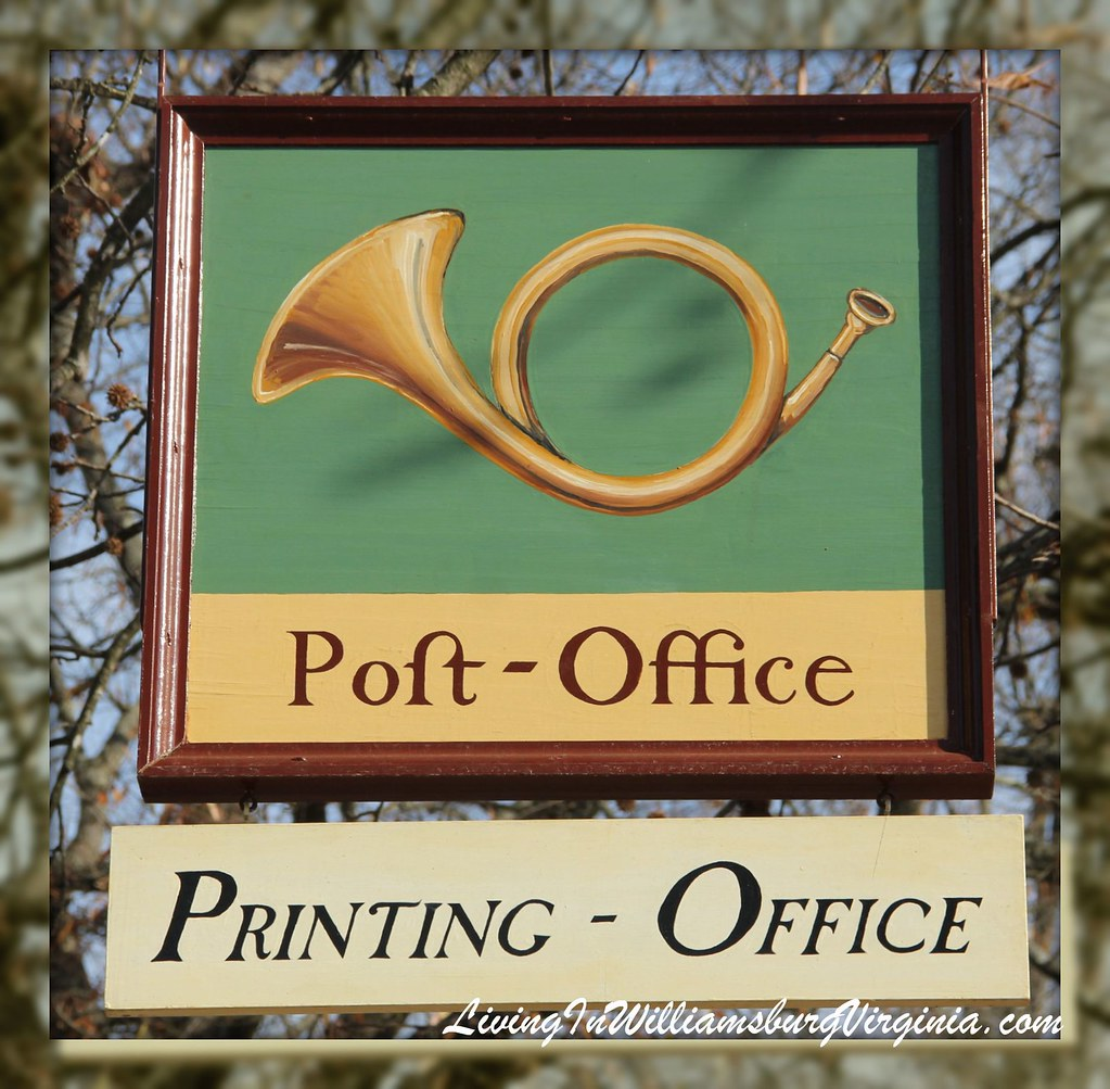Printing Office Sign